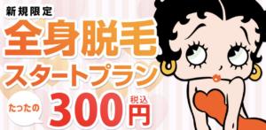 ジェイエステ スタートプラン300円