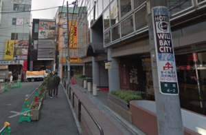 キレイモ船橋への道順2